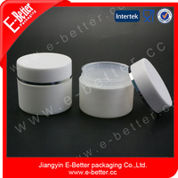 cylindrical double wall plastic jar 30ml for hand cream