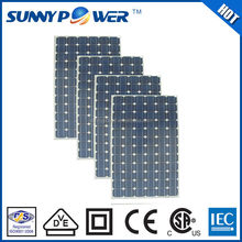 Promotion high efficiency 205W 5 watt solar panel