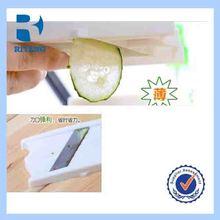 Wholesale Food Beauty Foldable Cucumber / Potato / Lemon Steel Slicer / Peeler With Mirror