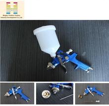 Hvlp 827 600 ML taza de plástico gravedad pistola de aire