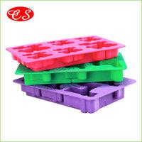 Hot sales and fashionablesilicone ice cube tray food grade FDA LFGB standard silicone ice cube tray