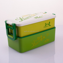 PP Two Sides Locking custom japanese kids plastic lunch box