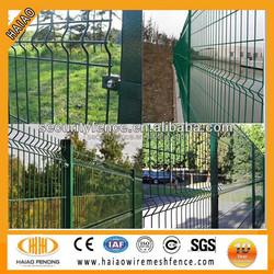 UK pvc coated welded decorative portable garden fence