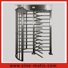 Full Height Turnstile Gates for public access control