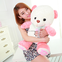 Fashion Glow in the dark Teddy Bear Plush Toys Soft Stuffed for Kids