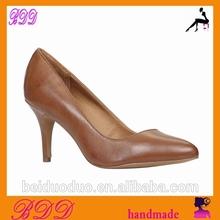 BD00243 vestido para zapatos de tacón bajo de estilo europeo para las mujeres