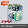 Grade raw materal mosquito repellent coil,micro smoke mosquito repellent