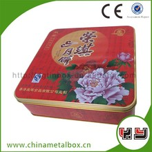 Various Types Chocolate Package Aluminum Small Tea Tin Container