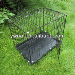 Hot sale Chinese blue/black metal pet dog cage for dog