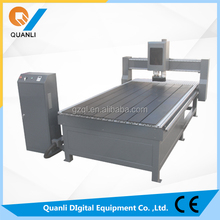 China wood stair QL-1325-A cnc router machine price for aluminum