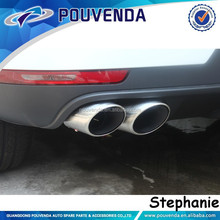 4x4 auto accessories Muffler Pipes Tail throat Exhaust System For macan