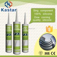 Acetoxy,fungicidal silicone sealant,100% RTV Silicone