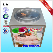 Fried rolling ice cream machine CB500 with CE for super market