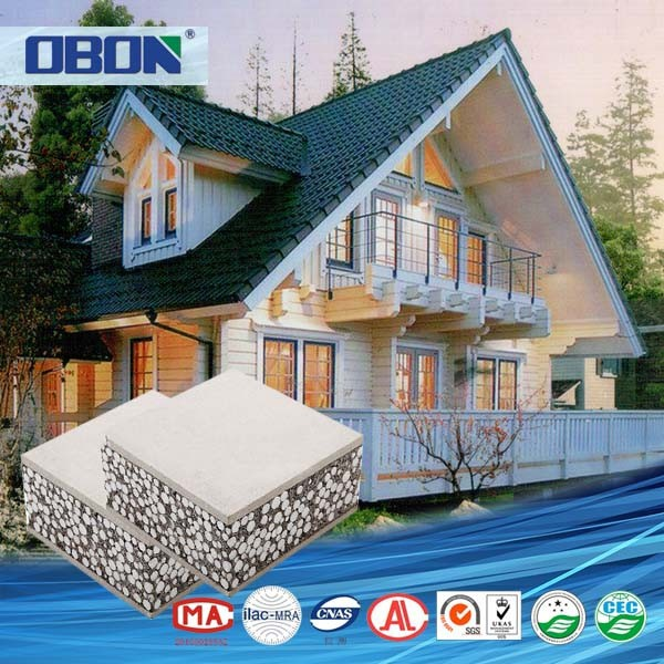 Obon made in china casas prefabricadas de panel sandwich - Casa panel sandwich ...