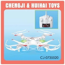 Cheap model toy drone helicopter with six axis gyro and light