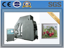 China manufacturer,QTL Type High speed plastic film roll 4 colours flexographic printing machine