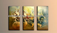 Islamic Modern Art Oil Canvas Painting in Panels