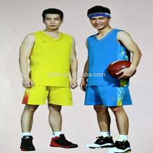 2015impresión baratos la juventud nuevo diseño de los uniformes del baloncesto