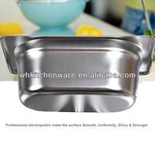 Shining Polish 304&201 Stainless Steel Gastronorm Container, GN Pan