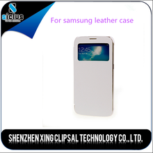 for samsung series mobile phone leather case for samsung galaxy mobile phone accessories factory in china