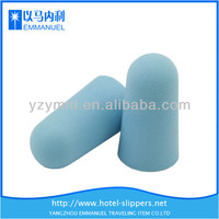 Blue cylindrical smart safety custom ear plugs