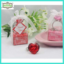 Hot sell crystal keyring for birthday party favors