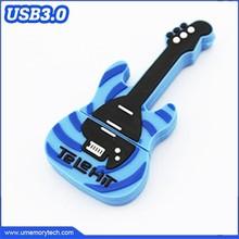 Rock musical instruments shape usb flash stick fashionable color pen usb flash drive