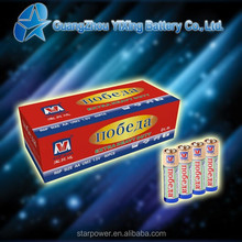 UM3 High capacity cell aa 1.5v battery r6p