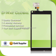 Factory price lcd screen ward for sony xperia l s36h c2105 c2104 c210x touch screen digitizer replacement