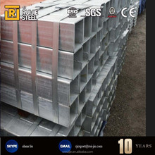 great supplier bs1387 galvanized square pipe/tube in stock