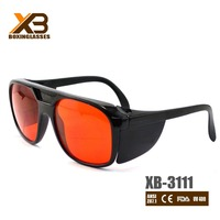 2016 Top selling anti-scratch laser safety goggles 532nm