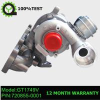 GT1749V turbo 716216-0001, 712078-0001 ,720855-0001 for Skoda Octavia I 1.9 TDI