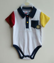 100% cotton newborn baby bodysuit, clothes for babies