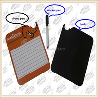 top selling personal dry erase message board fridge magnet