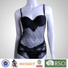 Hot Sale Seductive Sexy Women Black See Through Nighty Lingerie For Girls