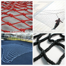 "2"" knotless polyester netting (black"
