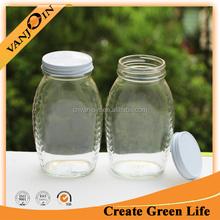 16oz Flint Honey Wedding Favors Jar