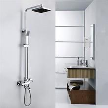 2015 Ewin Hot Sale Shower Set Brass Deluxe Woodpecker Shower Faucet With Slide Bar