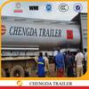 CHENGDA TRAILER ISO Certificated diesel tank trailer for sale
