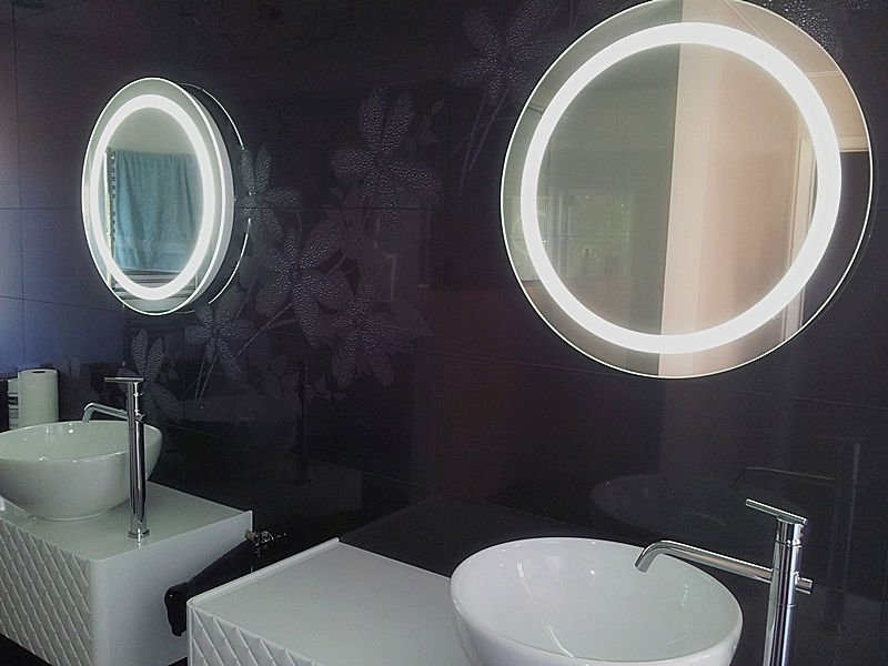 clairage miroir led miroir r tro clair miroir de. Black Bedroom Furniture Sets. Home Design Ideas