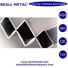 polished astm 316L 304 304L stainless steel decorative angle bar