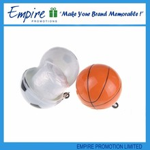 New style basketball shape disposable raincoat