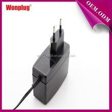 2014 Universal EU Plugs Wonplug Brand Cool Fashion 15v 1.5a ac adapter