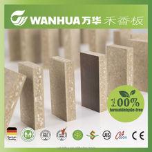 Zero formaldehyde release press wood mdf board