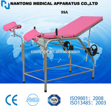 Cheap! Hot sale high quality gynecology table/ gynaecological examination bed with CE&ISO certificate
