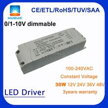 HUARUI 0-10v dimming led driver constant current 900mA 700mA 500mA 350mA