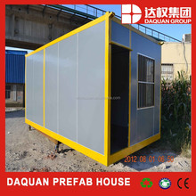 PU sandwich prefab container house for sale