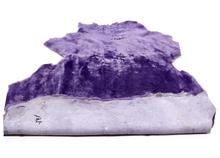 Purple Sheepskin /New Large Blanket Flooring Carpet Goat and sheep skins