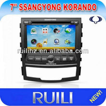 Ssangyong Korando Car Dvd Player Gps