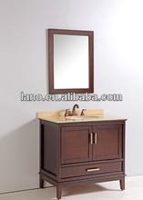 "36"" Single Sink Cherry Brown Traditional Bathroom Vanity/Bathroom Furniture/Bathroom Cabinet LN-T1162"